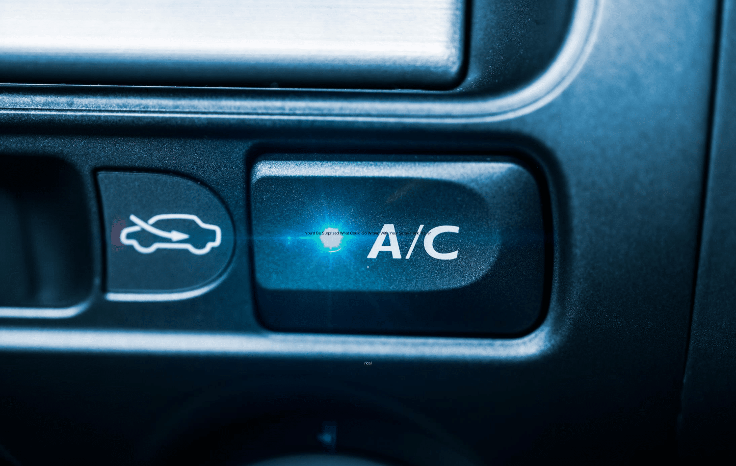Your Car Needs an AC Service if You Notice the Following 4 Things