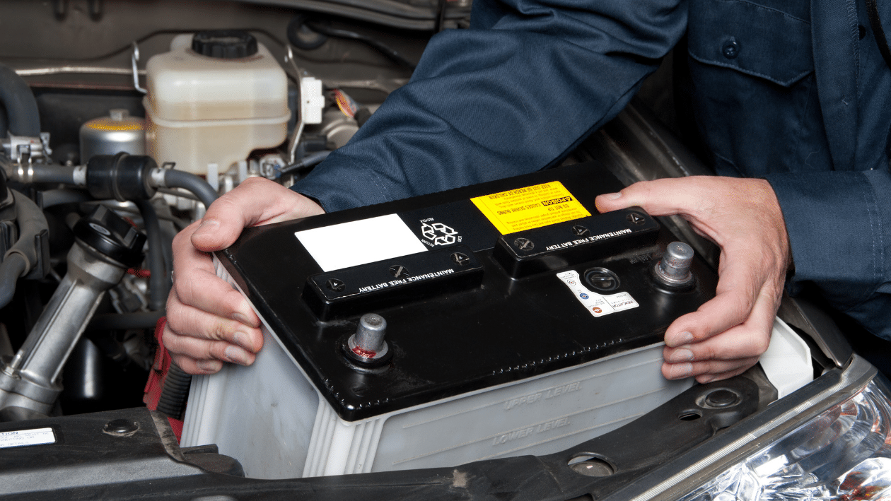 Cleaning your Car Battery